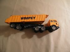 Siku 2919-4 Mercedes-Benz Semi-Truck w/Dump WIMPEY / Used / Free USA Shipping