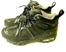 RARE MEN'S 9.5 OAKLEY BLACK HIKING BOOTS Waterproof Hiking Tactical Gear Nail