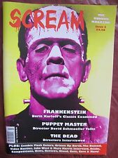 Scream 2 Uncirculated  Frankenstein & Puppet Master OUT OF PRINT