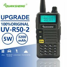 Quansheng UV-R50-2 Mobile Walkie Talkie Vhf Uhf Dual Band Radio Comunicador