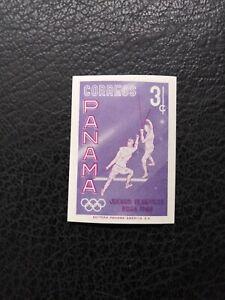 Panama #433 VAR, 1960 Imperf, MNH 3c Rome Olympics Issue
