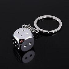 Metal Leather Key Chain Ring Keyfob Car Keyring Keychain Boson Men Creative Gift