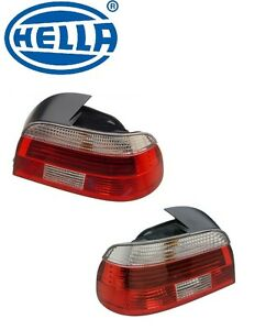 For BMW E39 01-03 Set of Left & Right Tail Light Assemblies OEM Hella