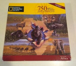National Geographic Up Close: Africa Puzzle 750 Pieces Hasbro