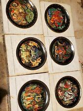 "Complete Set of 12 Bradford Exchange ""Russian Legends"" Decorative Plates"