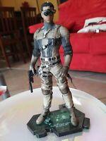 Statua omino Splinter Cell BlackList divisa Militare Alto 22 Cm da collezione