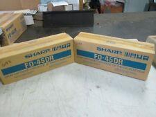 Sharp Drum Cartridge F0-45DR Lot of 2 (NIB)