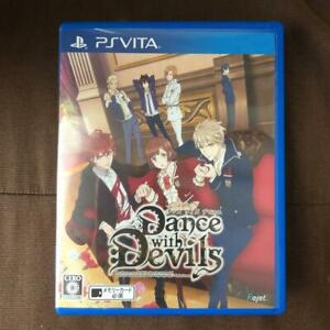 Uaed Dance with Devils from Japan Playstation Vita game soft PSV