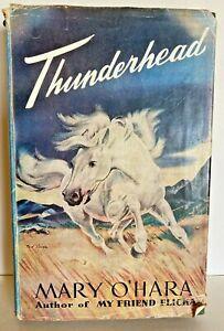 Thunderhead Mary O' Hara  1955 HB Vintage Horse Pony Fiction book