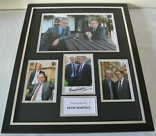 Kevin Whately SIGNED FRAMED Huge Photo Autograph display TV Lewis & COA