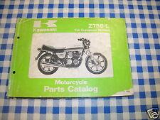 BB 99910-1180-01 catalogo ricambi  KAWASAKI Z750-L    ediz. 1980