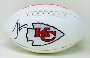 Tyreek Hill Autographed Kansas City Chiefs Superbowl Logo Football JSA Authen...