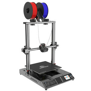 Large A30M 3D Printer Dual Extruder Full Touch Screen Low Voice 320*320*420mm