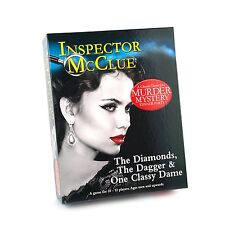 THE DIAMONDS THE DAGGER & ONE CLASSY DAME MURDER MYSTERY DINNER PARTY GAME - NEW