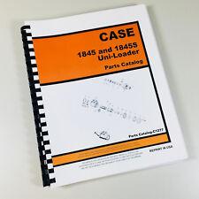 CASE 1845 1845S UNI-LOADER PARTS MANUAL CATALOG SKID STEER ASSEMBLY