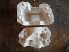 Vintage 1970's Ceramic Mold Plaster Casting Posing Lying Frog Toad No. C-37