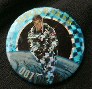 JAMES BOND 007 Pin Badge MOONRAKER
