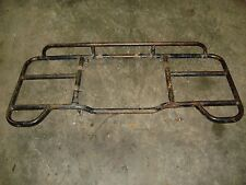 1986 Honda TRX 350 Fourtrax ATV Rear Back Luggage Rack Cargo Carrier (bent)