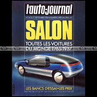 AUTO-JOURNAL N°14-15/1986 NUMERO SPECIAL SALON ★ TOUTES LES VOITURES DU MONDE 86