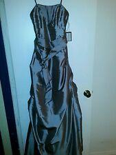 Formal Dress Impression Bridal Bridesmaid Prom Silver