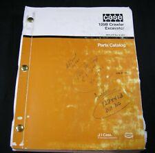 CASE 125B Crawler Excavator Tractor Parts Manual Book Catalog List 125 B OEM