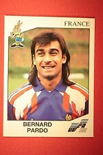 Panini EURO 92 N. 57 FRANCE PARDO NEW WITH BLACK BACK TOP MINT!!