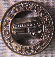 1955 New Albany Indiana Home Transit Token SEE TODAY'S PROMOTION whotoldya