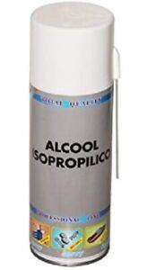 ALCOL ISOPROPILICO SPRAY * 400ML * ALCOOL ISOPROPANOLO CONCENTRATO 400ml SPRY HQ