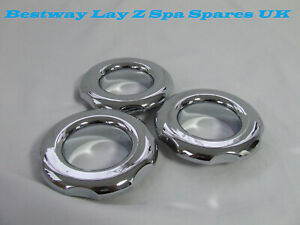 SPA  HOT TUB   Chrome Directional Jet - Spa Parts x 4 off rings