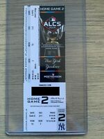 2019 ALCS New York Yankees vs Houston Astros Ticket Stub 10/16 Playoff GAME 4