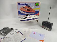 Speedy Speed Boot OVP Spielzeug RC Tronico Vintage Nikko 80er Garantie #MB06