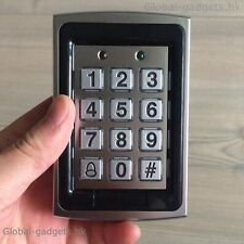 New 125KHz RFID Entry Exit Metal Door Lock Access Control Keypad