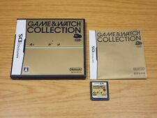 GAME & WATCH COLLECTION - NINTENDO DS NTSC JAPAN JAP JP AND CLUB DONKEY KONG 1 I