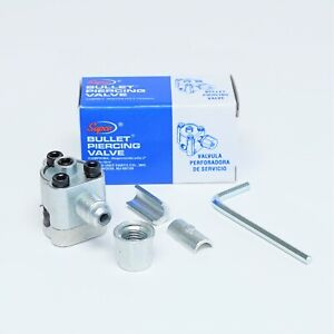 """BPV31 SUPCO Bullet Piercing Valve for 1/4"""", 5/16"""" and 3/8"""" Tubing 3 in 1 Access"""