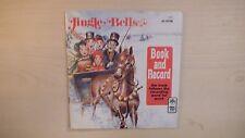 Peter Pan Book & Record JINGLE BELLS 45 RPM 1977