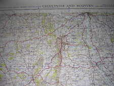 ORDNANCE SURVEY MAP 1952 WAR OFFICE EDITION GLOUCESTER MALVERN SHEET 143 1 INCH