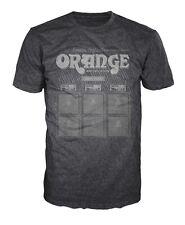 Orange Amplifiers Vintage Logo Fitted 100% Cotton T-Shirt, Men's 3XL - NEW