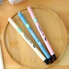 3pcs CreativeErasableBlack Ink RefillDogNeutralPen Personalized Gel Pens