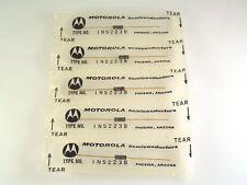 Motorola 1N5223B 2.7V 500mW 5% Zener Voltage Regulator Diode Vintage 80's OMA072