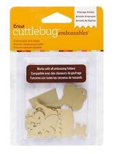 Cricut Cuttlebug VINTAGE ARTIST-GOLD Embossables Metal Shapes - Brand New!!!!