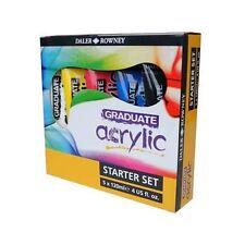 Daler Rowney Graduate Acrylic Starter Set 5 x 120ml