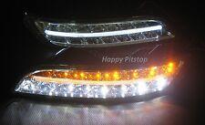 New lamp Porsche 911 997 LED DRL lights Daytime running light bumper lamps