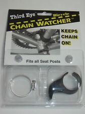 THIRD EYE Chain Watcher Guard - Riding Cycling Bike Bicycle Black NEW!