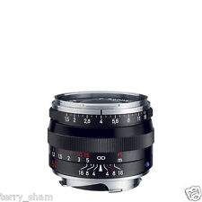 New Carl Zeiss C Sonnar T* 50mm F1.5 ZM Standard Lens Black Leica M M9 MP