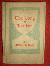 The Song Of Korthan by Frances Beatrice Taylor - 1923