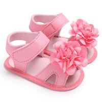 Toddler Newborn Flower Soft Sole Anti-slip Baby Sneakers Sandal Girl Crib Shoes