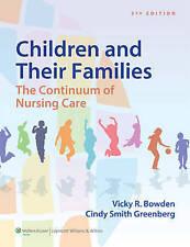 Children Amp Their Families 3e, Very Good, Greenberg, Cindy Smith, Bowden, Vicki