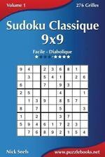 Sudoku: Sudoku Classique 9x9 - Facile à Diabolique - Volume 1 - 276 Grilles...