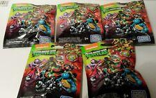 5 packs de Teenage Mutant Ninja Turtles aveugles Sacs scellés Mega Bloks Figures #3