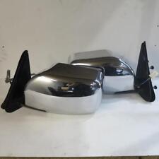Nissan Patrol GU Y61 Series 4 Chrome Mirror Pair Genuine Used